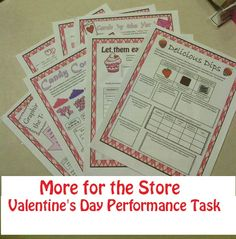 Valentine's Day-themed Challenging Performance Task for middle school math (6th and 7th grade, also for advanced 5th grade).   https://www.teacherspayteachers.com/Product/Valentines-Day-Math-Project-for-Middle-School-Project-based-Learning-1616383