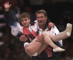 Kerri Strug gave one of the bravest performances in the Olympics ever. The U.S. had the lead going into their final event, the vault, but the Russians could still mount a comeback if the Americans collapsed. When the vaulter before Strug fell on both attempts, that put pressure on Strug, the final vaulter, to perform well. On her first attempt, she fell and badly damaged her ankle. Nonetheless, she vaulted again, and this time landed cleanly and scored...