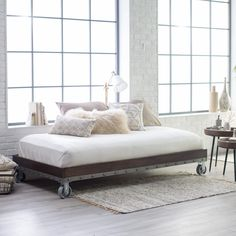 Belham Living Merced Daybed - Enhance your bedroom with the rustic, industrial beauty of the Belham Living Merced Platform Daybed . This Hayneedle exclusive stunner is available...