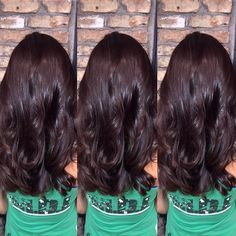 Triple chocolate. Sometimes you need a little all over color action. #chocolate #sombré #hair #hairstyle #highlights #balayage #babylights #instahair #picoftheday #fashion #hairstyle #haircolor #haircut #modernsalon #behindthechair #americansalon @modernsalon @behindthechair_com #makeover #brunette #waves  #10000orbust #goldwell  #iamgoldwell #fiidnt #orlando #orlandohairstylist #winterpark by jesscervihair