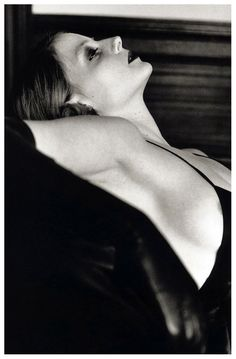 Jodie Foster - photo by Helmut Newton
