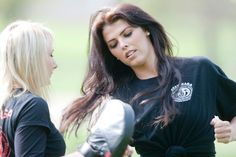 Nieve Jennings | Krav Maga Instructor Michelle Gallacher with Nieve Jennings. | Michael ...