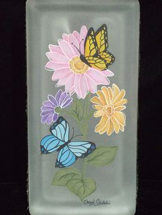 Butterflies and Zinnias Pattern – Cupboard Distributing