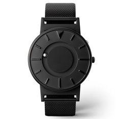 Whatch Men Stainless Steel Mesh Band Waterproof Celeste Tactile Timepiece Men Woman Watch Titanium Canvas Leather Quartz Watches