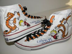 Calvin and Hobbes Converse.