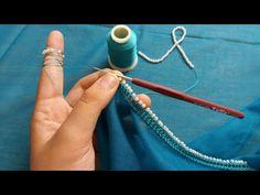 Gelin bohçası için oya modelim - YouTube Fancy Sarees, Lace Making, Baby Knitting Patterns, Crochet Designs, Bead Art, Crochet Lace, Embroidery Stitches, Crochet Projects, Diy And Crafts