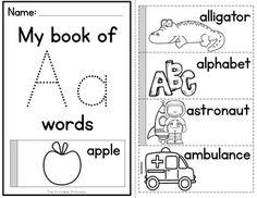 Alphabet Flip Books Books to Practice Letter Recogniti Preschool Lesson Plans, Preschool Literacy, Preschool Printables, Preschool Worksheets, Alphabet Books, Alphabet Activities, Letter E Worksheets, Abc Coloring Pages, Kindergarten Books