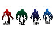 Iron Man - Hulk - Thor - Captain America!