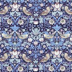Liberty Fabric Tana Lawn Strawberry Thief B-40 - Alice Caroline - Liberty fabric, patterns, kits and more - Liberty of London fabric online