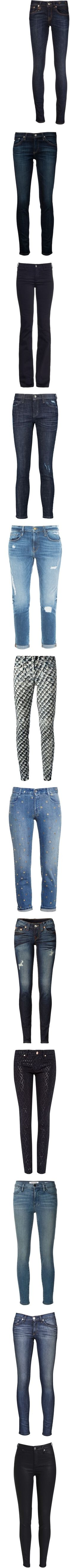 Bottoms: Jeans IV by jay-to-the-kay on Polyvore featuring skinnyjeans, jeans, pants, blue, denim skinny jeans, blue skinny jeans, skinny leg jeans, r13 skinny jeans, skinny fit jeans and ag+adriano+goldschmied jeans