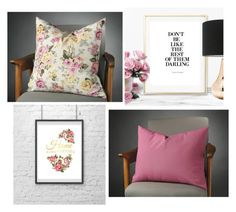 """Pillow Cover Collection"" by modernhouseboutique ❤ liked on Polyvore featuring interior, interiors, interior design, home, home decor, interior decorating, vintage, floral, pillow and magenta"