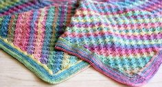 As the season begins to shift, it's time to break out the Spring into Summer Crochet Blanket. Full of delicious colors and irresistible texture, it's the perfect lightweight crochet afghan pattern as the spring fades into the summer.