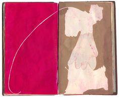 artspotting:    Jeffrey Decoster, Spill Book
