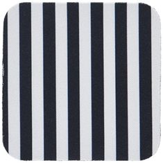 3dRose LLC Black and White Stripes Coaster Soft Set of 8 -- Check out the image by visiting the link. (This is an affiliate link)