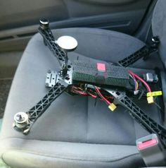 Spider storm quadcopter going for test flight