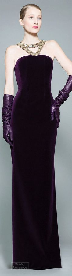 Georges Chakra Fall/Winter Ready-To Wear. Beautiful Gowns, Beautiful Outfits, Runway Fashion, High Fashion, Georges Chakra, Gowns Of Elegance, Haute Couture Fashion, Purple Fashion, Shades Of Purple
