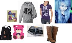 """forever unstopable :)"" by unicornzombiesatemarissa ❤ liked on Polyvore"