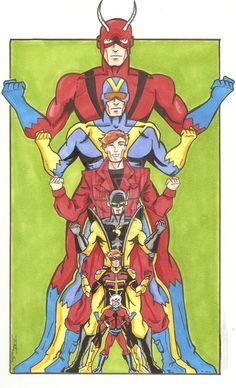 Ant-Man - Hank Pym - Scott Lang