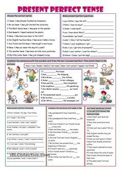 Present Perfect #EnglishTenses #LearnEnglish #EnglishGrammar @English4Matura