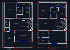 Download free #Autocad #drawing of House Space Planning 25'x40' #planndesign Autocad drawing of a duplex house shows space planning of 1 bhk house in plot size 25'x40' designed on Ground and First Floor. The drawing shows layout plan. #caddetail #autocaddrawing #planndesign #caddrawing #houseplan #housefloorplans #floorplans #residentialfloorplans #houseplandrawing #houselayout #spaceplanning #housespaceplanning