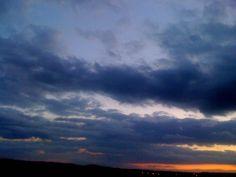Všichni fotí mraky, tak já tedy taky :-)