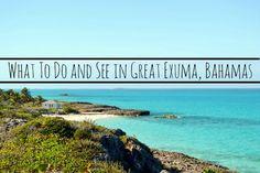 Itinerary for Great Exuma Bahamas