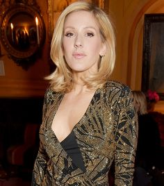 Ellie Goulding Gets a Lob, Looks Incredibly Classy