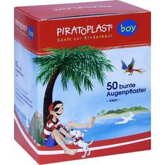 PIRATOPLAST Boy Augenpflaster klein 48x60 mm:   Packungsinhalt: 50 St Pflaster PZN: 06831481 Hersteller: Dr. Ausbüttel & Co. GmbH Preis:…