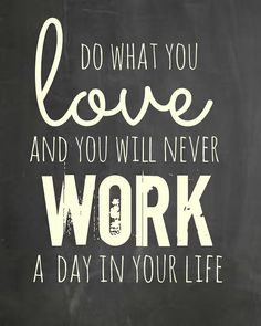 "It's a cliche for a reason, y'all. I'm blessed to say that I love all the things I do. I don't ""work""... I just live out my passion(s). XO, LT."