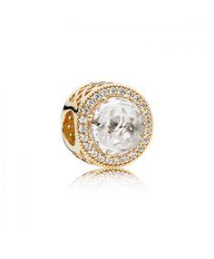 Pandora Gold Radiant Hearts Charm 750843CZ Cheap Online