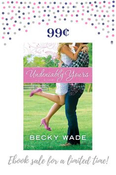 Undeniably Yours is the Carol Award-winning novel that launched my Porter family series! Grab it for a limited time for just 99 cents and find out why Bo Porter is one of my favorite heroes. #KindleSale #romance #Summerreads #sale #book