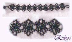 Round Lace Bracelet Pattern - Free