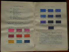 Garment Dyeing (1912) by Farbenfabriken vorm. Friedr. Bayer & Co #dyesamples #wool