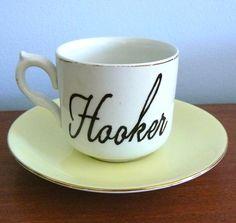 Hooker! For when I have my friends over for coffee, crochet and chat !