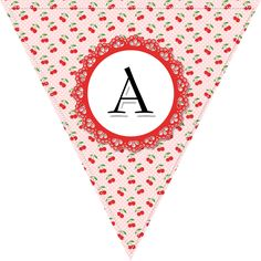 Free Printable Complete Alphabet and Number Cottage Banner/Bunting - The Cottage Market