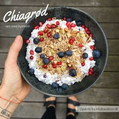 Morning Food, Muesli, Pcos, Acai Bowl, Food Porn, Brunch, Food And Drink, Low Carb, Keto