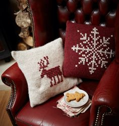 Christmas Cushions I'm going to make this winter :)