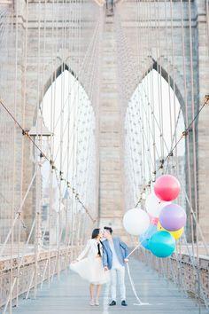 Engagement like a Hollywood movie #verlobung #hochzeit #film #ballons