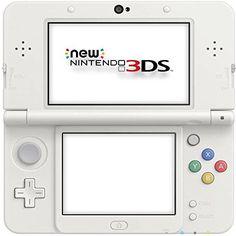 New NIntendo 3DS, Konsole (White)  http://www.cheapgamesshop.com/new-nintendo-3ds-konsole-white/