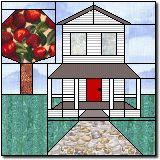 Farmhouse paper piecing pattern