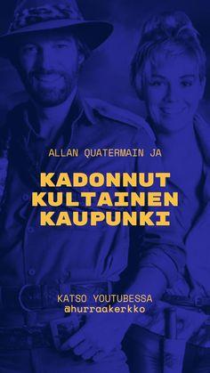 Arvostelussa Allan Quatermain ja kadonnut kultainen kaupunki (1986) #cultfilms