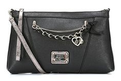 GUESS Womens Night Angel Crossbody Clutch Bag Handbag Black >>> Find out more about the great product at the image link.