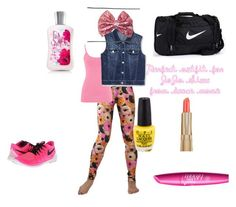 """""""Perfect outfit for JoJo Siwa from dance moms"""" by beanrod ❤ liked on Polyvore featuring maurices, NIKE, Estée Lauder, women's clothing, women, female, woman, misses and juniors"""
