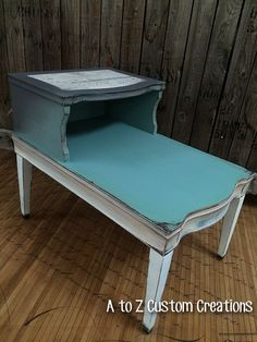 Ombre Table Makeover by A to Z Custom Creations