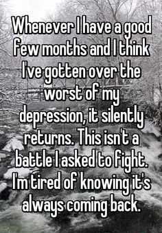 28 Ideas for quotes deep depresion bipolar Stress, Emotion, My Demons, How I Feel, In My Feelings, True Quotes, Qoutes, Funny Quotes, Deep Thoughts