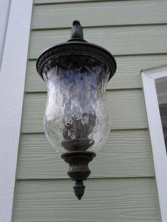 Exterior garage lights IMG_20120613_115934 by FayNewHomes, via Flickr
