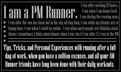 I am a PM Runner