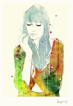 Floyd Grey #fashion #illustration