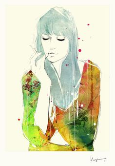 Floyd Grey #fashion #illustration