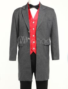 Mens Victorian Coat Jacket (Order Tailored fit)